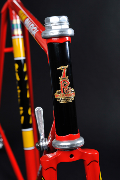 TI Raleigh Team Pro 753 Campagnolo Super Record Headset