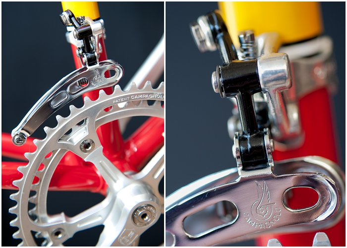 TI Raleigh Team Pro 753 Campagnolo Super Record Front Mech