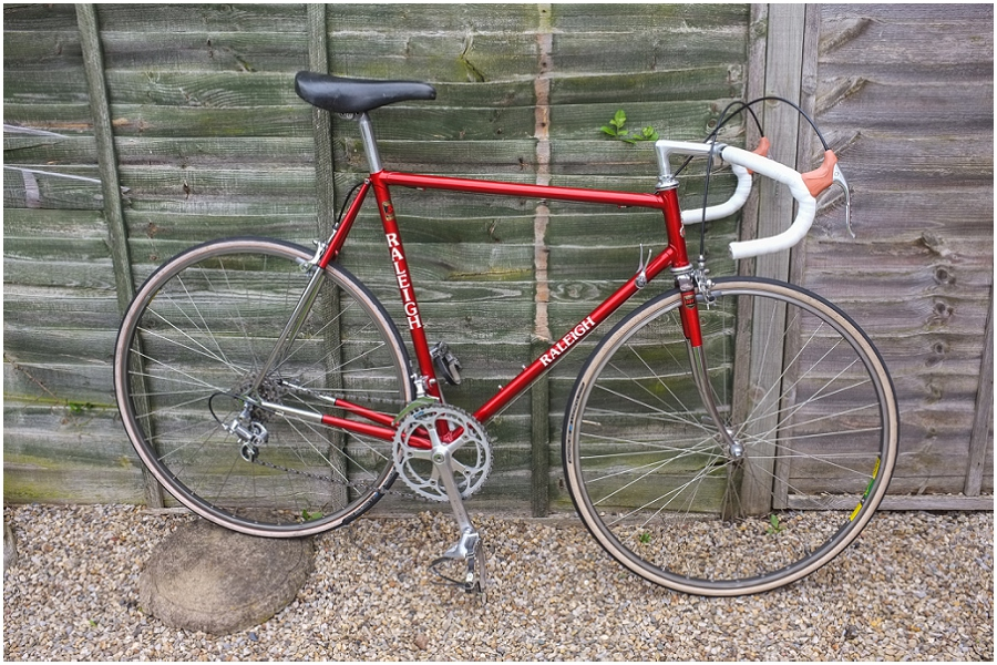 Raleigh Ilkeston SBDU 531 Professional Complete Bike