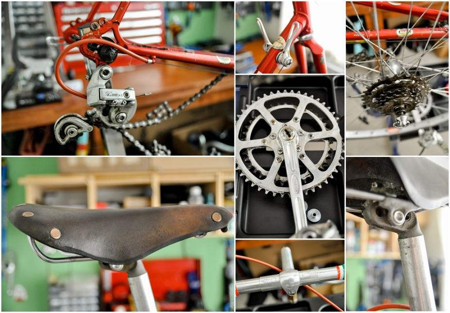 Raleigh SBDU Ilkeston Randonneur 531 1985 SB7660 Components