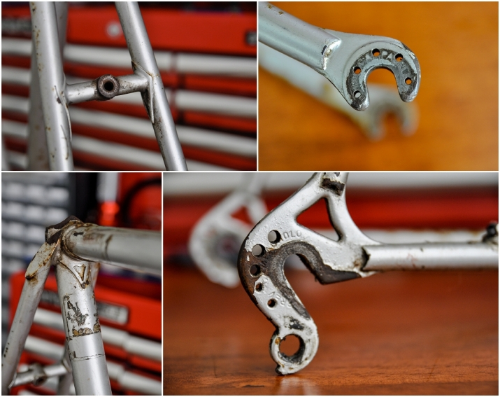 Raleigh SBDU Ilkeston Time Trial Special 753 1978 SB2692 H591 Frame Details