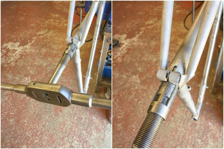 Dave Yates Frame Building Course Day 5 Reaming Seat Tube
