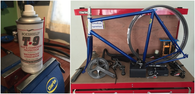 Dave Yates Frame Building Course Complete Bike Frame Protection