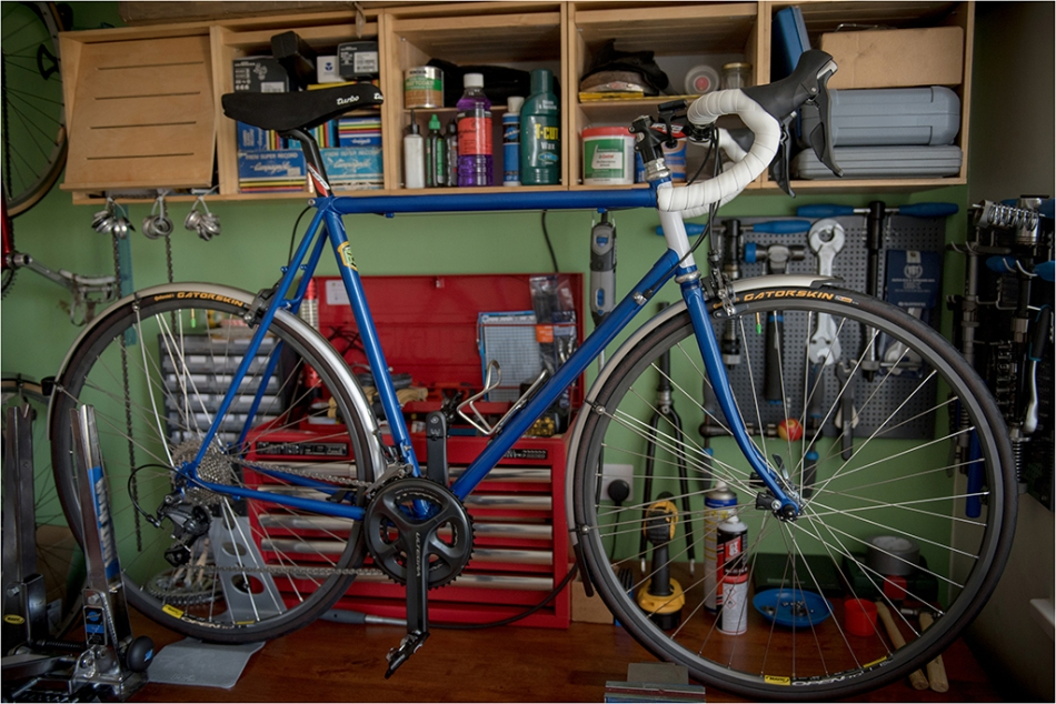 Dave Yates Frame Building Course Complete Bike