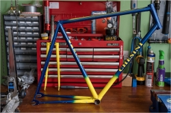 Jan Raas JR 1 78 T SBDU Ilkeston TI-Raleigh Track Frame