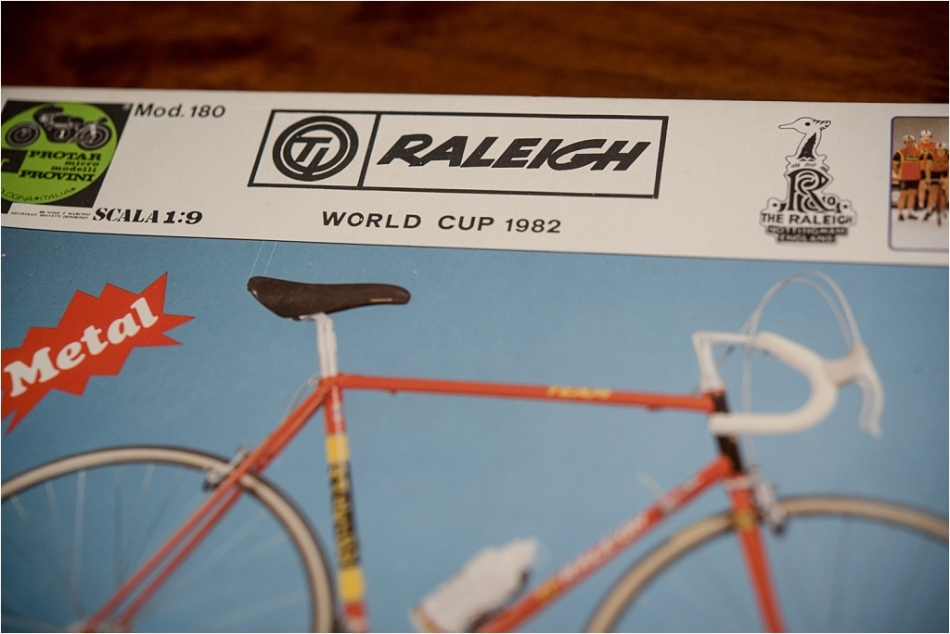 Protar Team Pro TI-Raleigh 753 Metal Scale Model Kit
