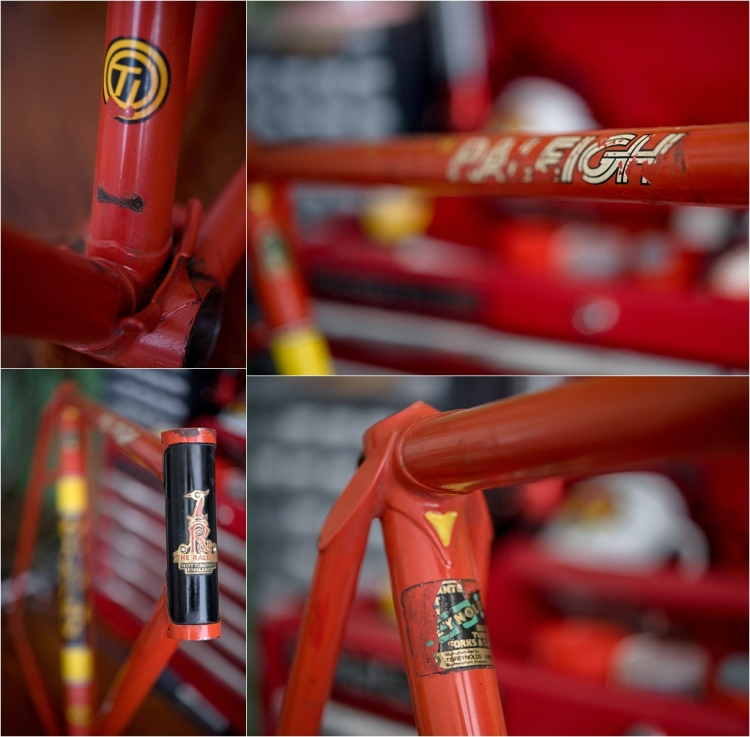 SB1688 1977 SBDU Ilkeston TI-Raleigh Team Pro Reynolds 531 Frame Decals