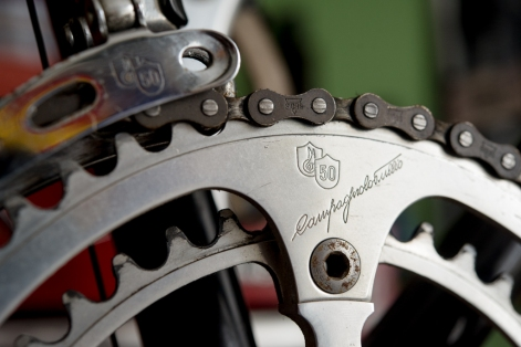 SB6398 Reynolds 753R SBDU Ilkeston Campagnolo Super Record 50th Anniversary Group Chain Ring