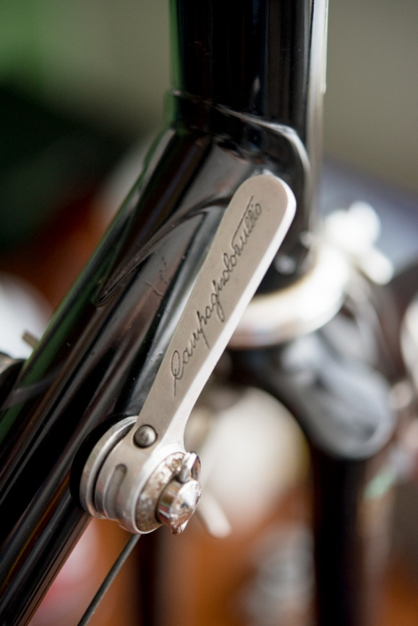 SB6398 Reynolds 753R SBDU Ilkeston Campagnolo Super Record 50th Anniversary Group Gear Lever Front