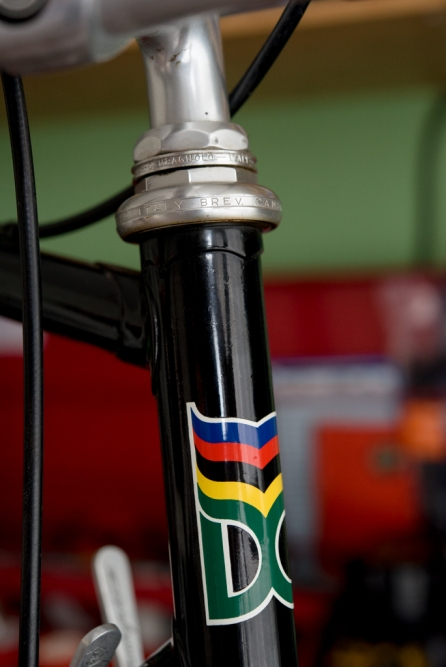 SB6398 Reynolds 753R SBDU Ilkeston Campagnolo Super Record 50th Anniversary Group Head Tube