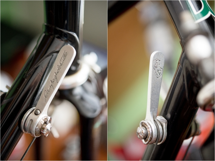 SB6398 SBDU Ilkeston Raleigh Denton Cycles Reynolds 753R Campagnolo Super Record 50th Anniversary Gear Levers