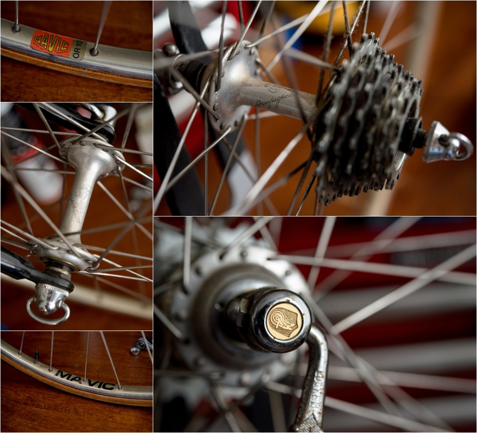 SB6398 SBDU Ilkeston Raleigh Denton Cycles Reynolds 753R Campagnolo Super Record 50th Anniversary Hubs
