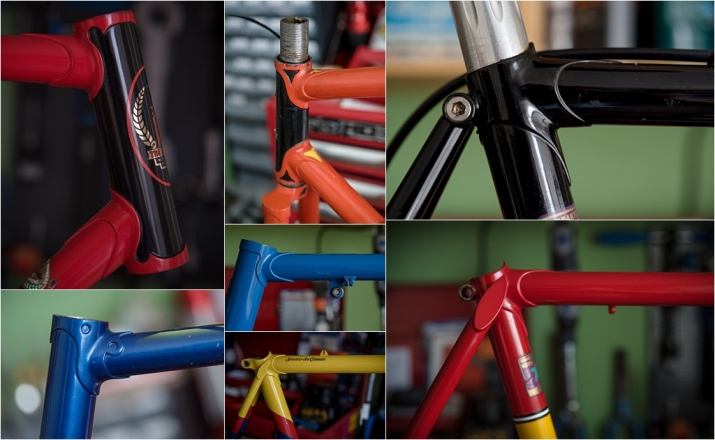 My TI-Raleigh SBDU Ilkeston Lugs and Seat Stay Collection