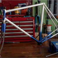 My TI-Raleigh SBDU 2019 Projects: SB518 1976 Reynolds 531 Road Frame