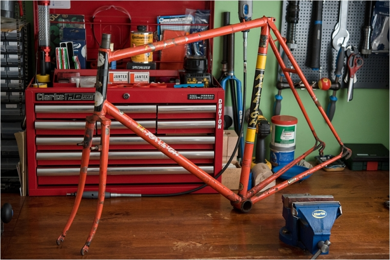 SB5084 1982 SBDU Ilkeston Reynolds 531SL Team Cyclo Cross Frame and Fork