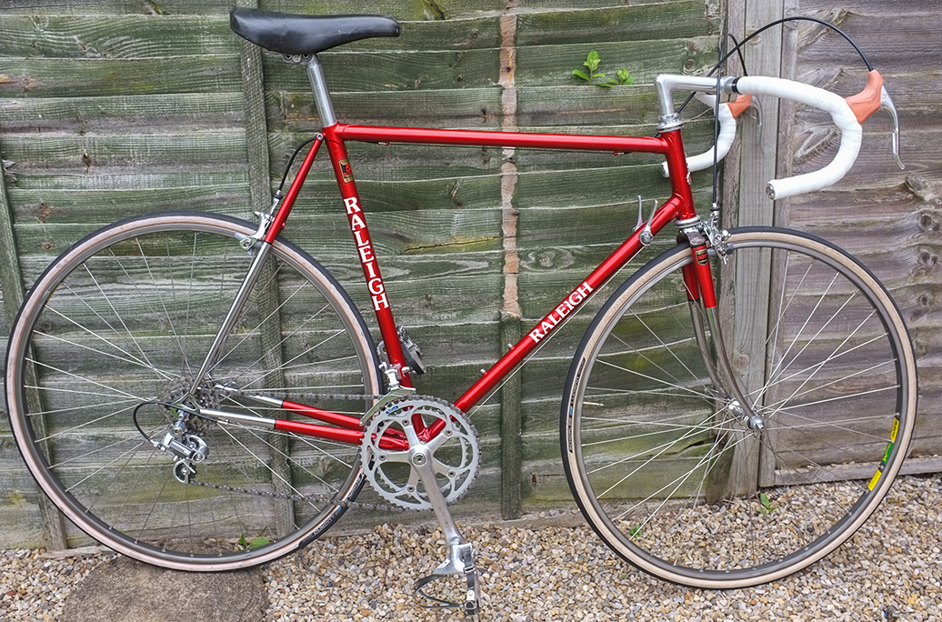 SB7219 1985 SBDU Ilkeston Raleigh 531 Pro Super (Part Chrome)