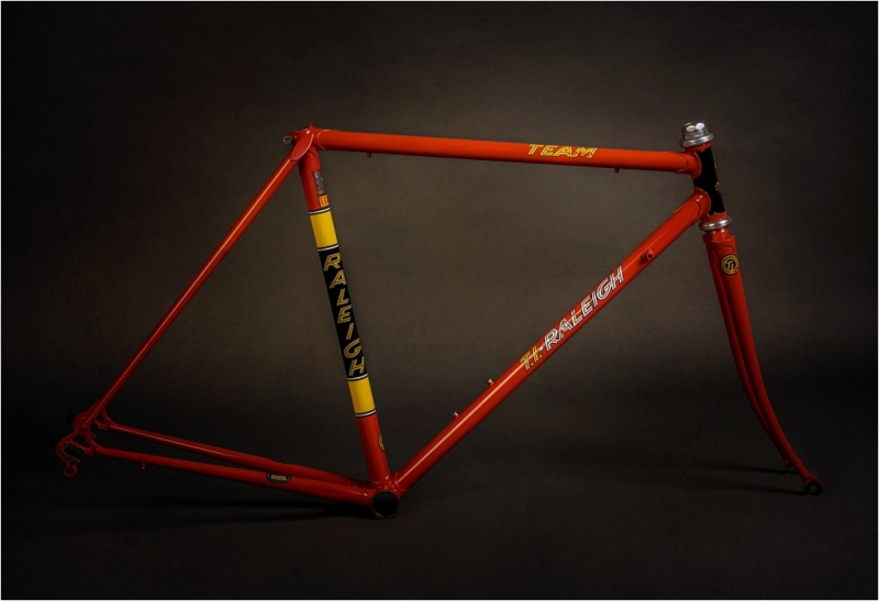SB3505 1980 SBDU Ilkeston Reynolds 753 TI-Raleigh Team Pro Studio Frame and Fork