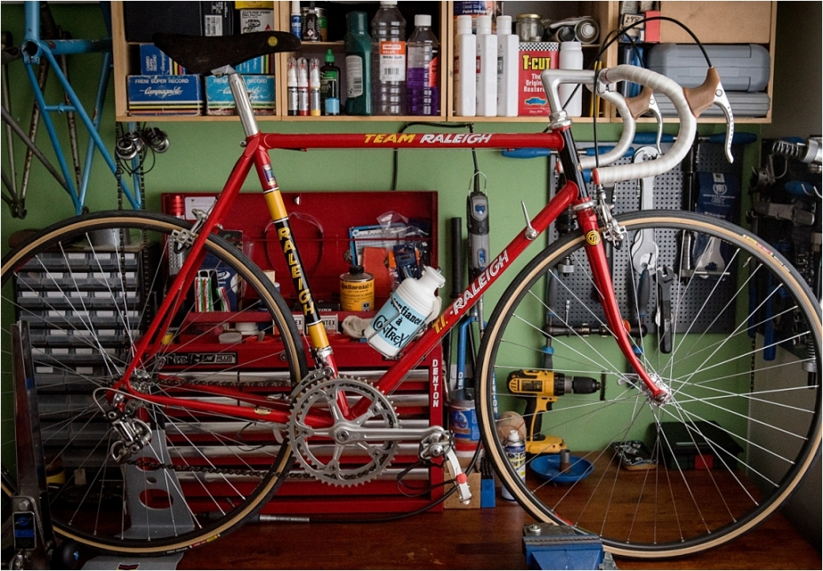 SB4059 1980 TI-Raleigh Reynolds 753 Team Pro Campagnolo Super Record New Cables Fitted