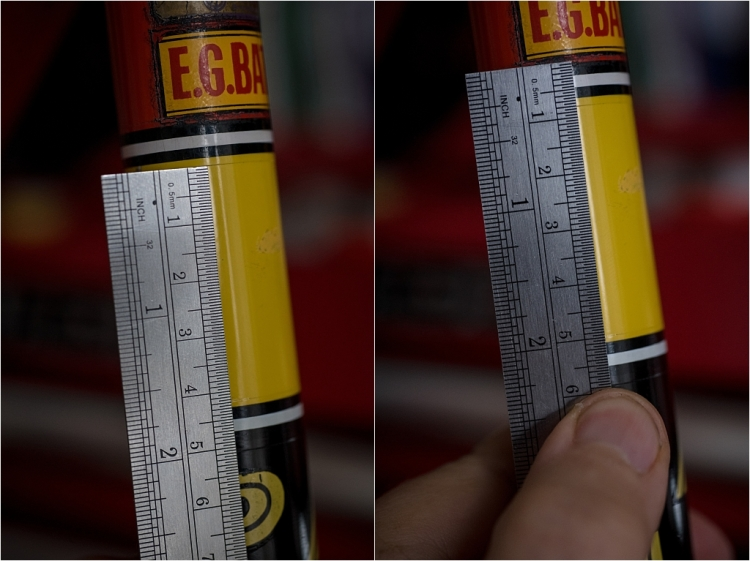SBDU TI-Raleigh Seat Tube Panels Typical Measurements