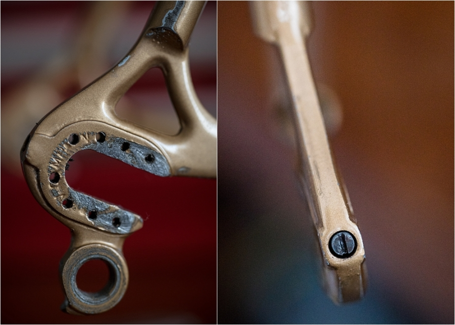 Specialist Bicycle Development Unit (SBDU) Campagnolo 1010B Early 1976