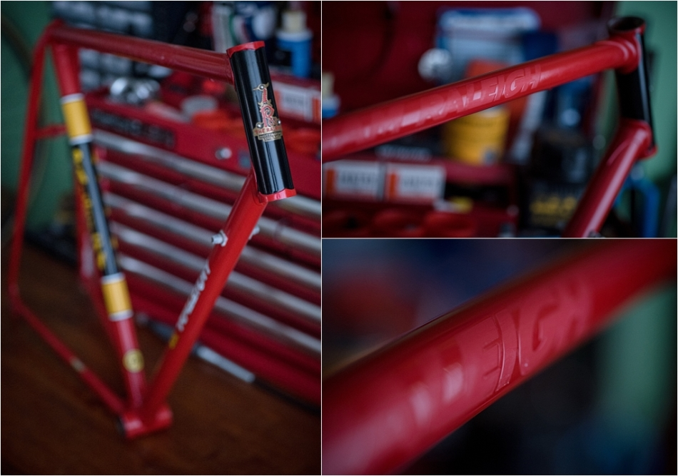 SB4059 1980 TI-Raleigh Team Pro Reynolds 753 Transfer Removal Finished
