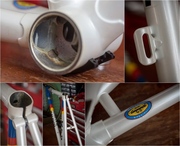SB8790 1987 SBDU Nottingham 531c Lo Pro Road Frame BB Shell and Details