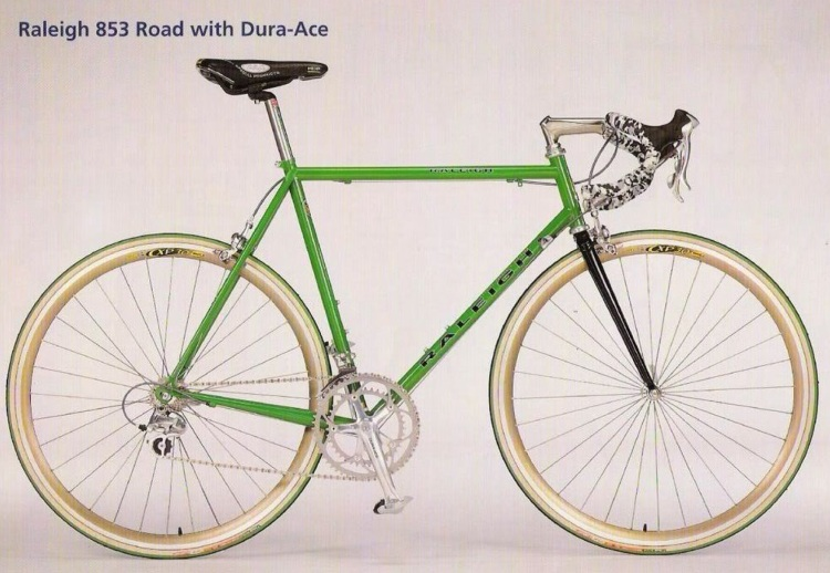 Dated (Feb 1997) Raleigh Special Products 853 Road