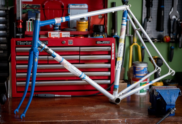 SB6560 SBDU Ilkeston 531c Services des Courses Frame and Fork