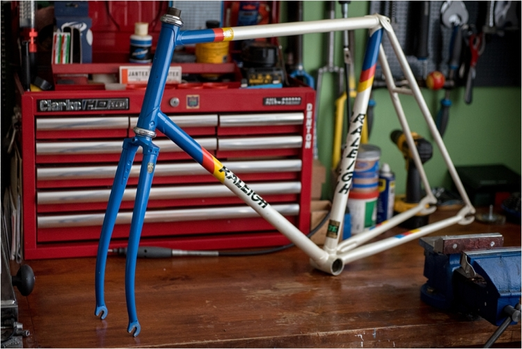 Motor Paced Stayer Frame and Fork