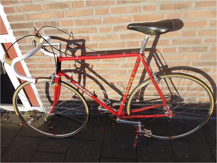 Roy Schuiten 1975 GP Lugano and Grand Prix des Nations Bike Measurement Painted