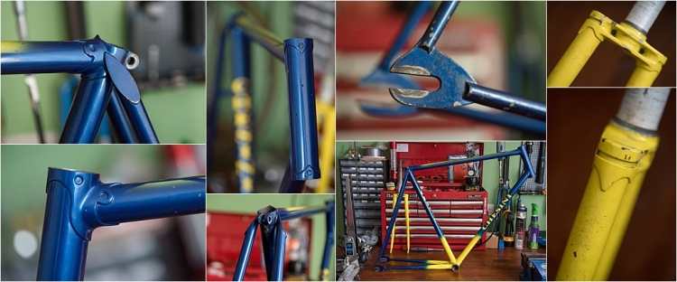 SBDU TI-Raleigh Ilkeston Reynolds 531 Team Bike JR178T Jan Raas Frame Details